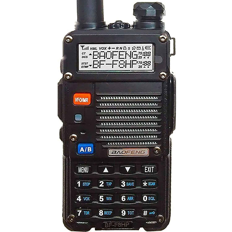 como sintonizar una radio baofeng