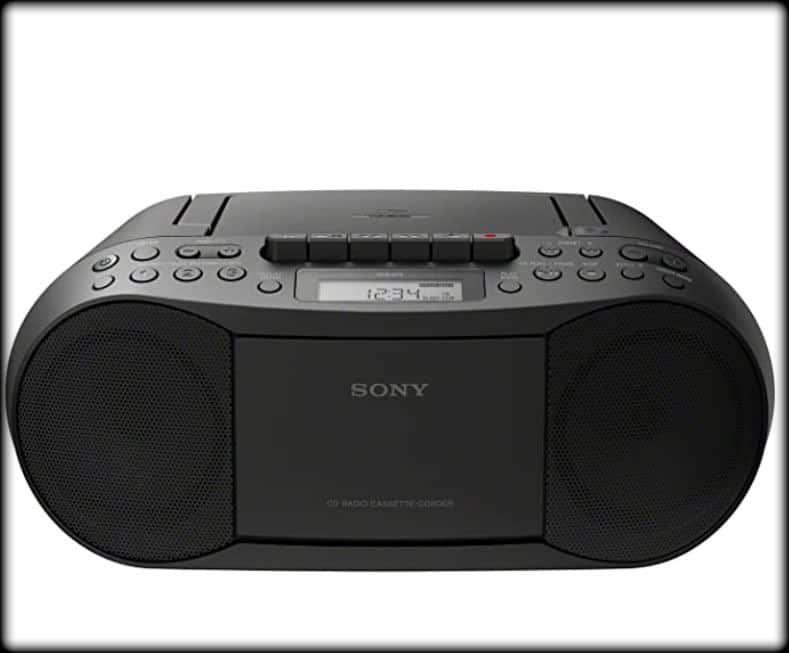Sony radio portátil  CFDS70BLK Stereo CD